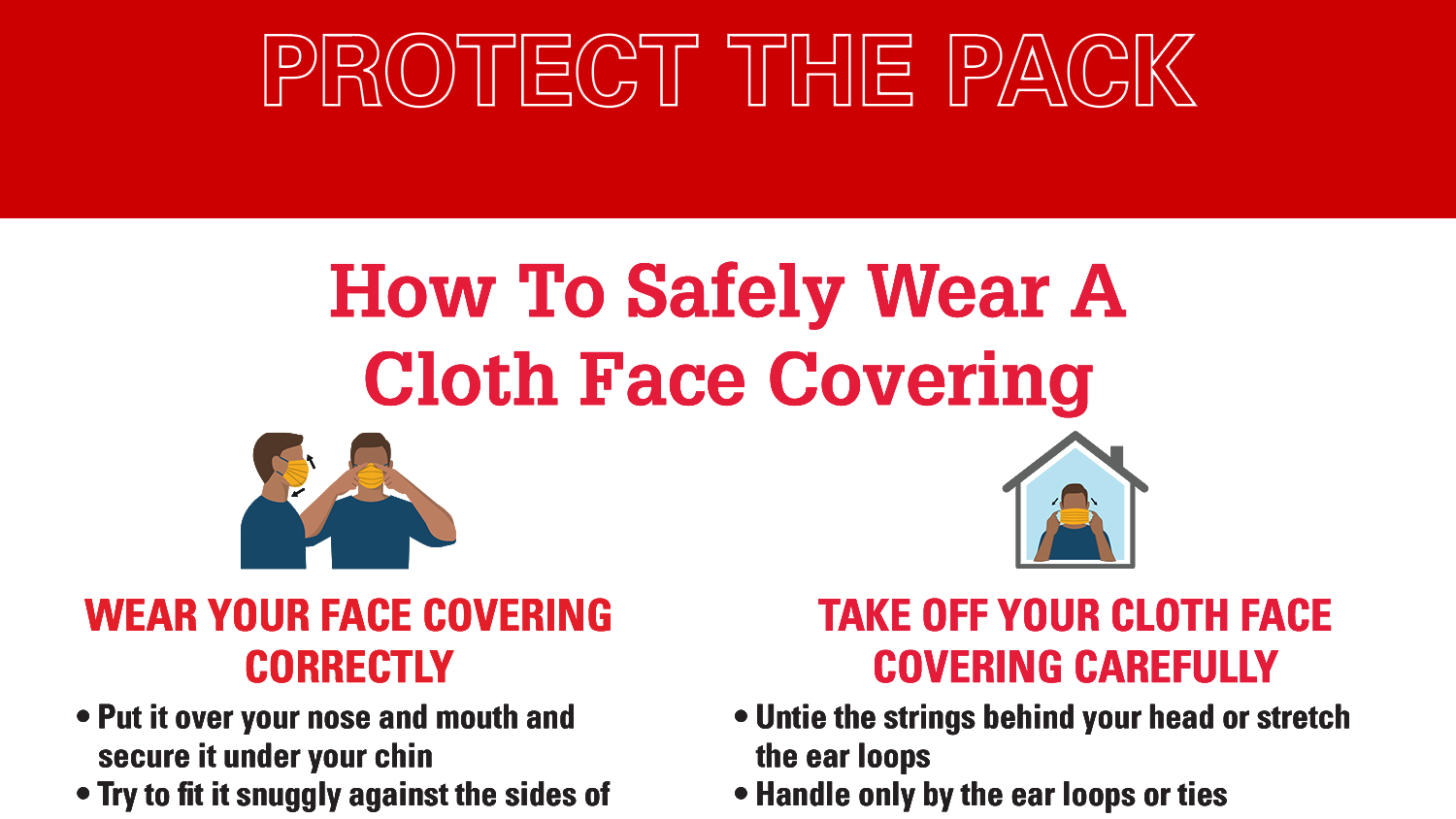 Face covering example
